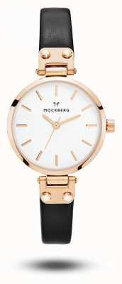 Mockberg Sigrid petite black strap mostrador branco MO201
