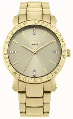 Lipsy Mostrador do ouro das mulheres, pulseira de ouro LP566