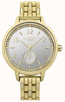 Lipsy Relógio de banhado a ouro LP583