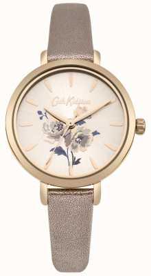 Cath Kidston Womens ilha monte metálico rosa ouro pulseira de relógio CKL049RG