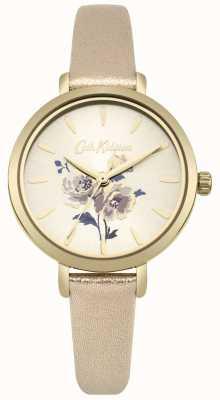 Cath Kidston Relógio de pulseira de ouro metálico de grupo de ilha de mulheres CKL049G