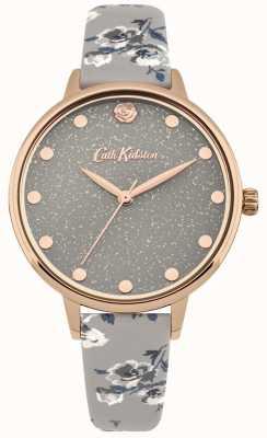 Cath Kidston Womens reluzente ilha monte pulseira de relógio cinza CKL056ERG