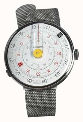 Klokers Klok 01 pulseira de aço amarelo cabeça de relógio milano KLOK-01-D1+KLINK-05-MC1