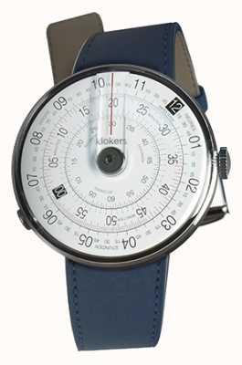 Klokers Klok 01 black watch head azul índigo cinta única KLOK-01-D2+KLINK-01-MC3