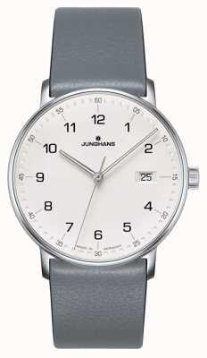 Junghans Relógio de pulseira de quartzo cinza de quartzo 041/4885.00