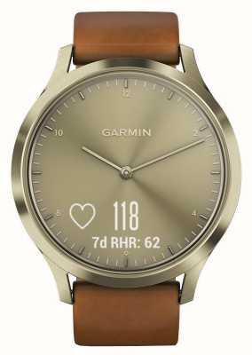 Garmin Vivomove hr (pequeno / médio) premium tracker gold 010-01850-05