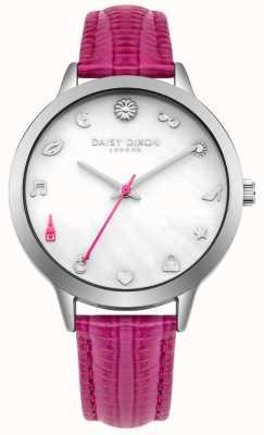 Daisy Dixon Womens lexi pulseira de couro rosa DD078PS