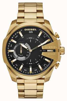 5a02fe5ae1e Diesel Mens megachief híbrido smartwatch pulseira de tom de ouro DZT1013