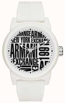 Armani Exchange Cinta de silicone para homem AX1442