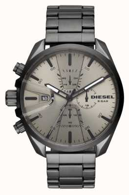 Diesel Mens cinta de aço inoxidável ms9 crono DZ4484
