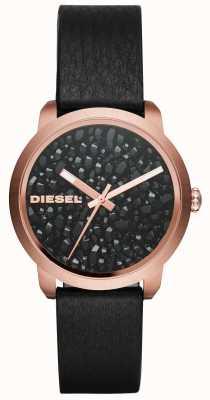 Diesel Womens flare rocks pulseira de couro DZ5520