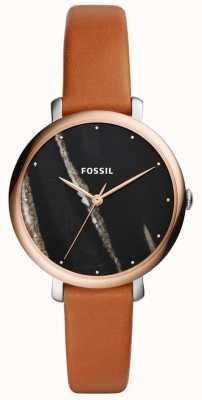 Fossil Pulseira de couro jacqueline para mulher ES4378