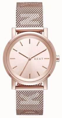 DKNY Womens soho cinta de aço inoxidável NY2622