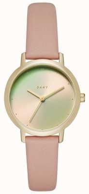 DKNY Womens a pulseira de couro modernista NY2739
