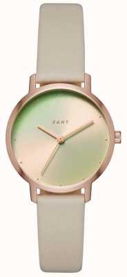 DKNY Womens a pulseira de couro modernista NY2740