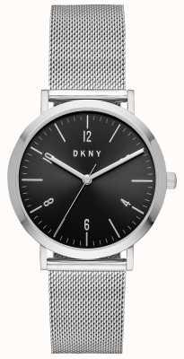 DKNY Womens minetta cinta de aço inoxidável NY2741