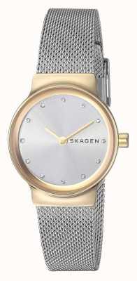 Skagen Cinta de malha de aço inoxidável para mulher SKW2666