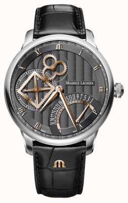 Maurice Lacroix Relógio automático retrograde da roda quadrada da obra-prima MP6058-SS001-310-1