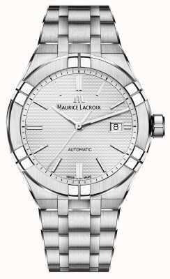 Maurice Lacroix Relógio automático de aço inoxidável Aikon AI6008-SS002-130-1