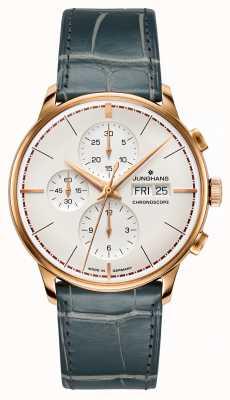 Junghans Meister cronoscope terrassenbau edição limitada 027/9700.00