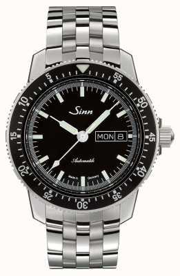 Sinn 104 st sa i clássico piloto relógio pulseira de aço inoxidável 104.010 BRACELET