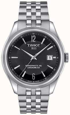 Tissot Mens ballade powermatic 80 pulseira de aço inoxidável T1084081105700