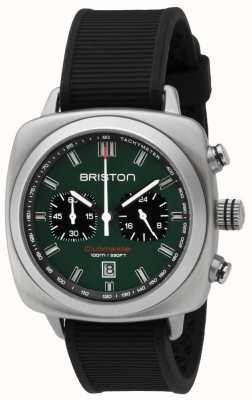 Briston Clubmaster sport cinta preta mate verde britânica 16142.S.SP.16.RB