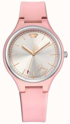 Juicy Couture Relógio de dia dos namorados rosa para mulher 1901641
