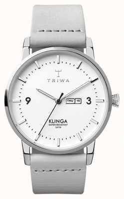 Triwa Neve klinga cinza claro TR.KLST109-CL111512