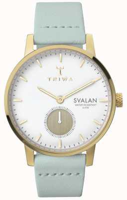 Triwa Womens marfim svalan hortelã clássico super slim TR.SVST105-S111313