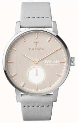 Triwa Womens blush svalan cinza claro super fino TR.SVST102-SS111512