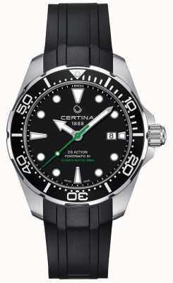Certina Mens certina ds action diver powermatic 80 relógio automático C0324071705100