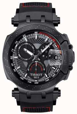 Tissot T-race motogp edição especial pulseira de borracha preta T1154173706104