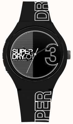 Superdry Fusão xl urbana fosca impressão em preto e branco SYG239BW