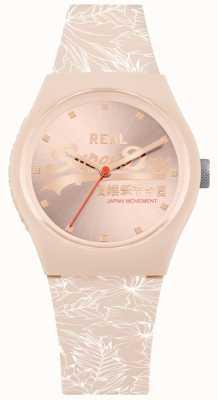 Superdry Faixa rosa pálida urbana sunray dial rosa pálido SYL248C