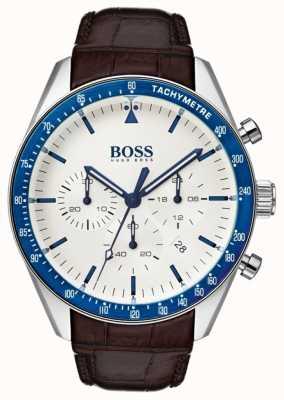 Hugo Boss Mens discagem branca de troféu 1513629
