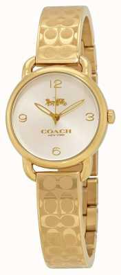 Coach Relógio de ouro para mulher delancey 14502892