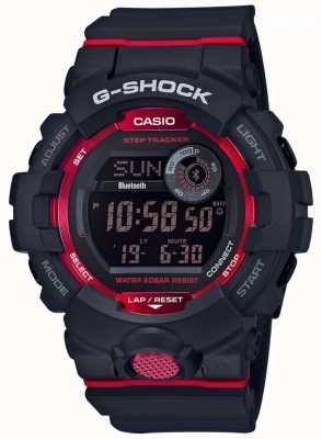 Casio G-squad preto / vermelho digital bluetooth rastreador passo GBD-800-1ER