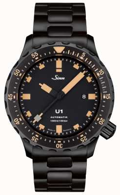 Sinn Relógio U1 se preto pulseira tegiment 1010.023 BRACELET