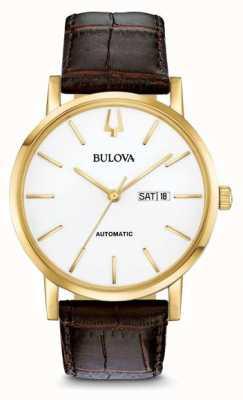 Bulova Pvdwatch de ouro automático masculino clipper americano 97C107