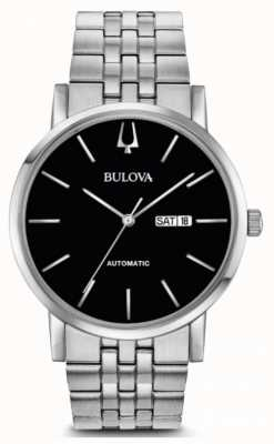 Bulova Relógio automático clipper americano masculino 96C132