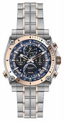 Bulova Relógio de aço inoxidável de precisão dos homens champlain 98B317
