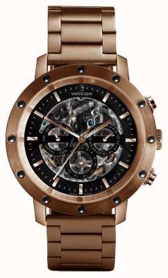 Weird Ape Icarus 3 dial black rose gold / pulseira de ouro rosa WA02-005712