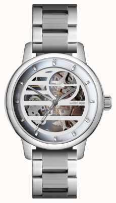 Weird Ape Pulseira de prata / prata branca Rosalind WA02-005833
