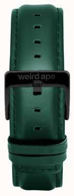Weird Ape Bracelete em couro azul escuro escuro apenas 20mm ST01-000075
