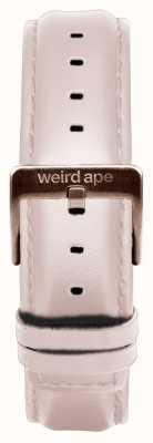 Weird Ape Bracelete em pele nua de 16mm com fecho em ouro rosa ST01-000034