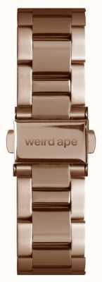 Weird Ape Apenas pulseira de elo da pulseira em ouro rosa de 16 mm ST01-000043
