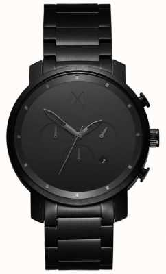 MVMT Chrono 45mm black link | pvd preto | mostrador preto D-MC01BB