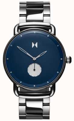 MVMT Revólver opar | pulseira de aço inoxidável | mostrador azul D-MR01-BLUS