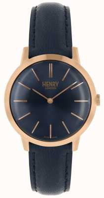 Henry London Relógio de mulher icônico da marinha HL34-S-0216